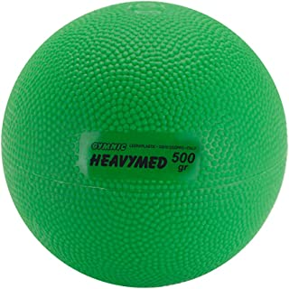 Gymnic Heavymed 500 Medicine Ball, 10cm/500g/1.1 lb, Green