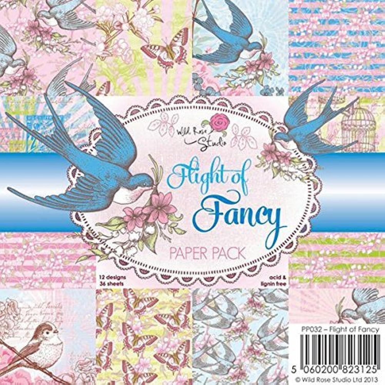 Wild Rosa Studio Paper Pack, 6 by 6-Inch, 6-Inch, 6-Inch, Flight of Fancy by Wild Rosa Studio B01KBASJLK  | Outlet Online Store  2d7381