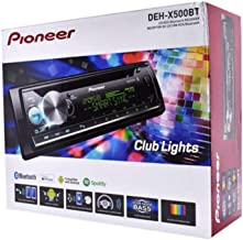 $169 » Pioneer DEH-X5000BT 1-DIN USB Bluetooth in-Dash CD/AM/FM Car Stereo Receiver with Remote Spotify MIXTRAX