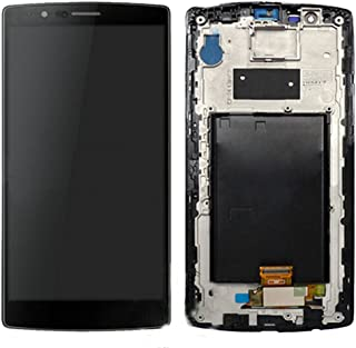 LCD Display Touch Screen Digitizer + Frame for LG G4 H810 H811 H815 VS986 LS991 F500L (Black w/Frame)