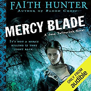 Mercy Blade     Jane Yellowrock, Book 3              Written by:                                                                                                                                 Faith Hunter                               Narrated by:                                                                                                                                 Khristine Hvam                      Length: 14 hrs and 39 mins     4 ratings     Overall 4.8