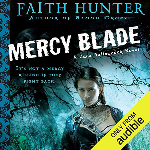 Mercy Blade audiobook cover art