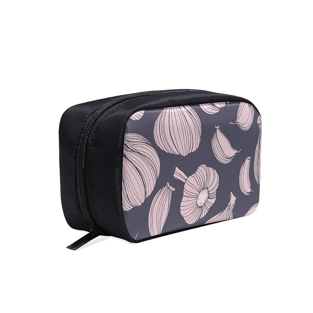 広範囲札入れ寝るCKYHYC メイクポーチ にんにく ボックス コスメ収納 化粧品収納ケース 大容量 収納 化粧品入れ 化粧バッグ 旅行用 メイクブラシバッグ 化粧箱 持ち運び便利 プロ用