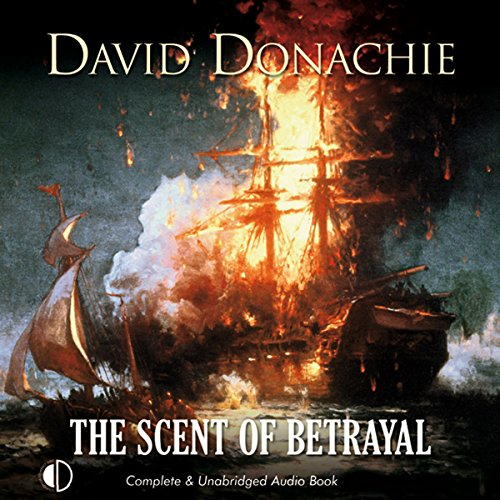 The Scent of Betrayal audiobook cover art