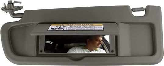 SAILEAD Left Driver Side Sun Visor for Honda Civic 83280-SNA-A01ZA 2006 2007 2008 2009 2010 2011Sun Visor Assembly (Atlas Gray)