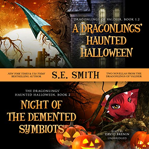 A Dragonling's Haunted Halloween and Night of the Demented Symbiots     Two Dragonlings of Valdier Novellas              De :                                                                                                                                 S. E. Smith                               Lu par :                                                                                                                                 David Brenin                      Durée : 6 h et 22 min     Pas de notations     Global 0,0