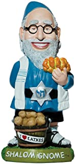 Best Shalom Jewish Gnome Rabbi Indoor/Outdoor Handpainted Weather-Resistant Resin Review