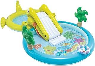 Intex 57164NP - Centro de juegos acuático con tobogán, dos piscinas 180 y 132 litros