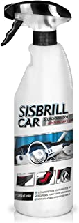 Sisbrill Car, Acondicionador Multi-Top de Salpicaderos, Plásticos y Piel - Abrillantador Satinado - Tacto Seco - 750 ml