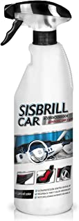 Sisbrill Car, Acondicionador Multi-Top para Tableros, Plástico y Cuero - Blanqueador Satinado - Dry Touch - 750 ml