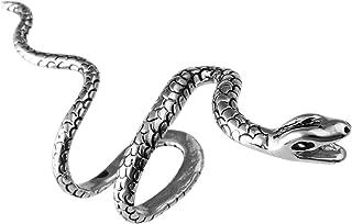 1-4 قطع النحاس ثعبان القرط كليب غير مثقوب أقراط الأذن الأصفاد للنساء الرجال الفتيان الفتيات