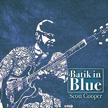 Batik in Blue
