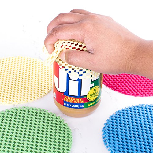 12 Pack Multi-Purpose Jar Gripper Pad Rounds, Bottle Openers