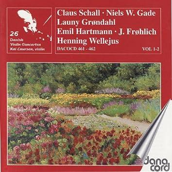 Danish Violin Concertos Vol. 1 & 2
