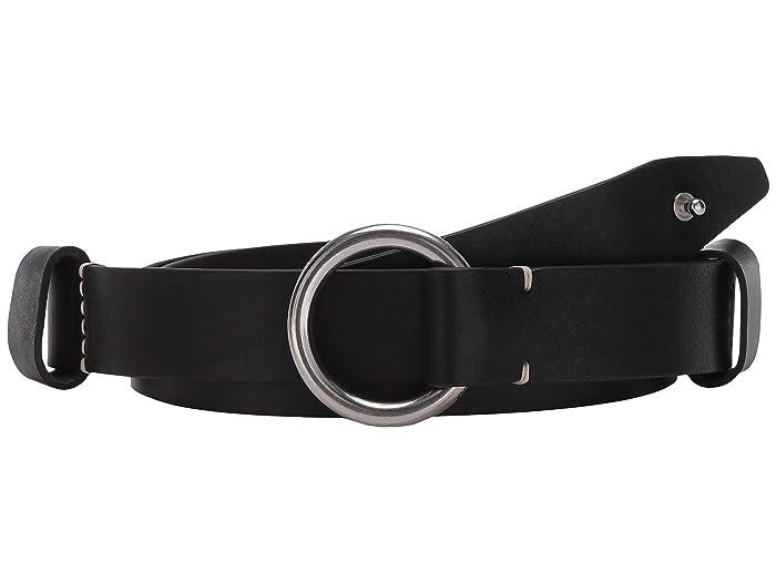 rag and bone  Arc Circle Belt (Black) Womens Belts