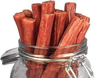 Mission Meats Keto Free Range Turkey Jerky Sticks Gluten Free, Sugar Free, Nitrate Free, No MSG Paleo Snack...