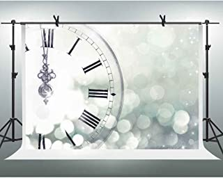 FHZON Background 10x7ft Beautiful Clock Bokeh Photography Backdrop Themed Party YouTube Backdrops Photo Booth Studio Props PFH116