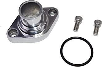 SBC//BBC Chrome Water Neck Thermostat Housing Outlet Chevy Straight-up