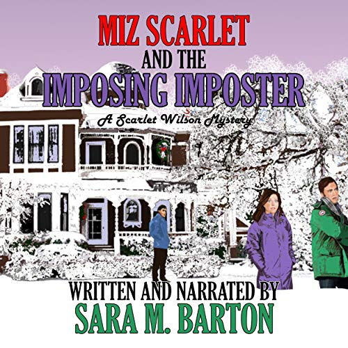Miz Scarlet and the Imposing Imposter audiobook cover art