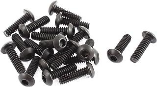"3//16/""-24x3//4/"" 10.9 Alloy Steel Button Head Hex Socket Cap Screw Bolt 20pcs"