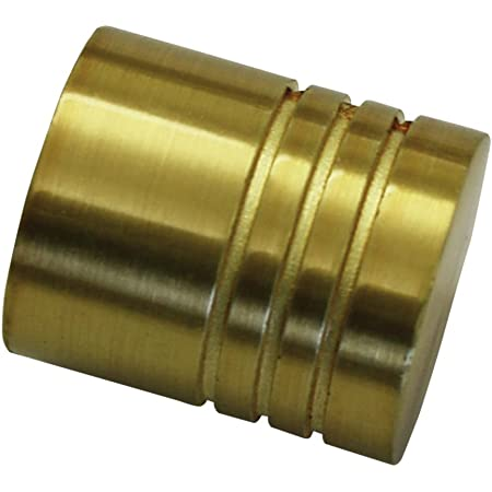 Bronze M/étal S/érie Chicago Diam/ètre: 20 mm 2 embouts boule GARDINIA Embouts pour tringle /à rideau