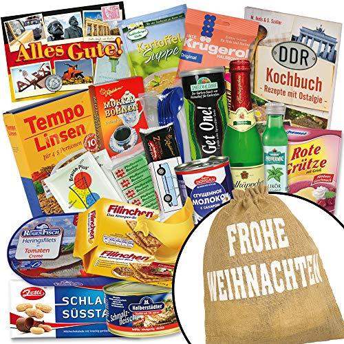 Geschenkbeutel mit Traditionellen Produkten aus dem Osten +++ DIE Geschenkidee zum Gest für Ostalgiker + Filinchen Knusper,