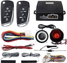 $66 » EASYGUARD EC003N-V Car Security Alarm System PKE Passive keyless Entry Remote Engine Start Stop keyless go System DC12V
