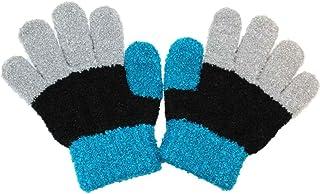 キッズ手袋 (ブルーブラックグレー柄) 子供手袋 子供用手袋 おしゃれ ザジーザップス