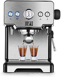 WHSS Máquinas de café Máquina De Espresso Italiana De Alta Presión De La Tienda De Té De Vapor Concentrado Molido En El Hogar