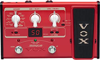 VOX StompLab 2B Multi-Effects Modeling Pedal with Expression for Bass Guitar