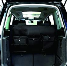 MESIMME Large Capacity Car Organizer Sticky for Trunk Backward for Your Car SUV Truck Vehicle