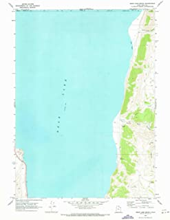 YellowMaps Bear Lake South UT topo map, 1:24000 Scale, 7.5 X 7.5 Minute, Historical, 1969, Updated 1973, 27 x 21 in