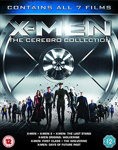 X-Men - The Cerebro Collection (7 Blu-Ray) [Edizione: Regno Unito] [Edizione: Regno Unito]