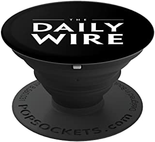The Daily Wire Logo PopSocket - PopSockets Grip and Stand for Phones and Tablets