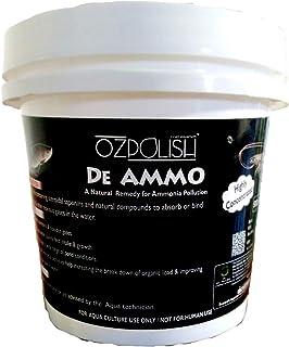 OZPOLISH De Ammo by Aquatic Habitat for use in Garden/Artificial Ponds .Aquaculture and Fishes & Shrimps Farming /Reduce A...