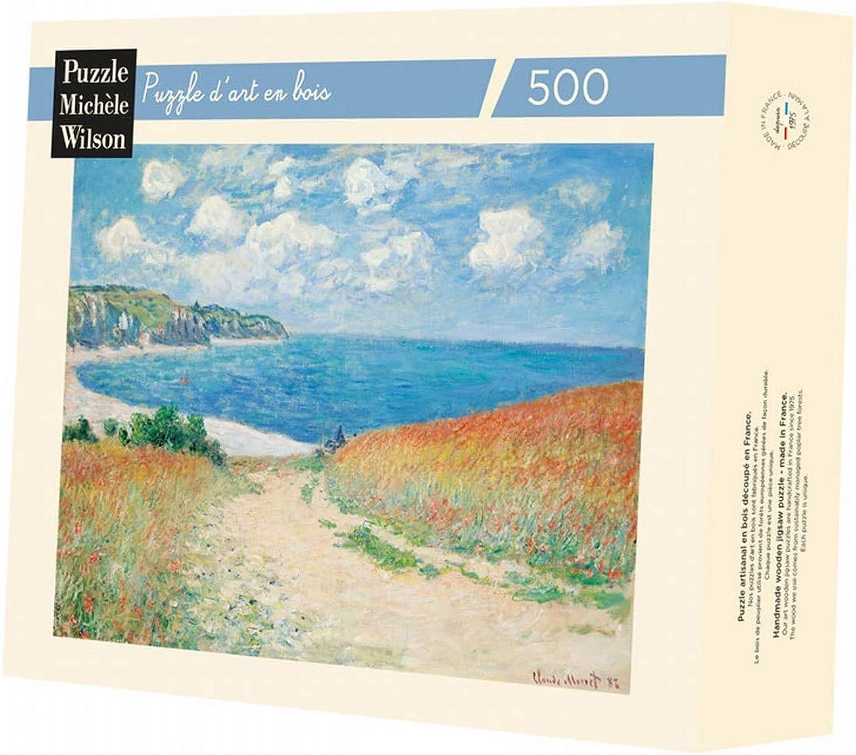 Claude Monet - Chemin dans les Blés, 1882 B06XGCLX1T Elegante und robuste Verpackung  | Fuxin
