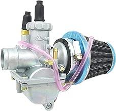 Carburetor W/Air Filter For SUZUKI AX100 KAWASKI QJ100-M 22mm 100CC 2 Scooter Carb motorcycle ATV Carburettor