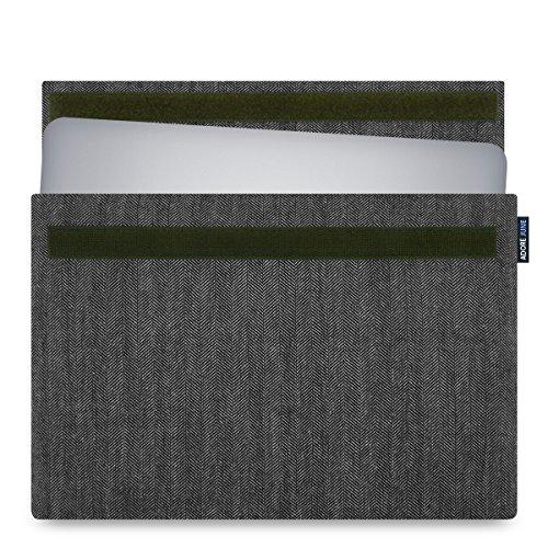 Adore June 15,6 Zoll Hülle Business kompatibel mit Dell XPS 15 2015-2019 Laptop Tasche aus charakteristischem Stoff für Dell XPS 15 2015-2019 (Modelle: Dell XPS 15 9580, 9570, 9575, 9560, 9550)