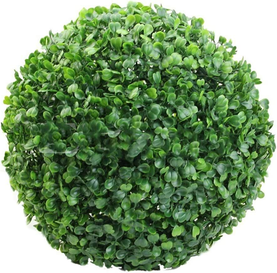 TBEONE Artificial Plant Finally popular brand Topiary OFFer Ball Faux Ba Boxwood Decorative