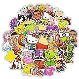 Top Stickers !  Lot de 50 Stickers Variés Cartoon Dessins Animés - Autocollant HD Non Vulgaires – Hello Kitty,...