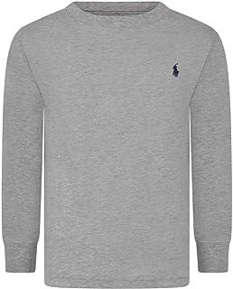 Boys Cotton Jersey Crewneck T-Shirt