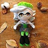 SLOVETH Original Splatoon Callie Marie Green Doll Plush Toy Squid Octolings Girl 22cm Rare Gift