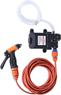 YKDY CARPART 12V Car Washer Gun Pump High Pressure Cleaner Car Care Portable Washing Machine Electric Cleaning Auto Device