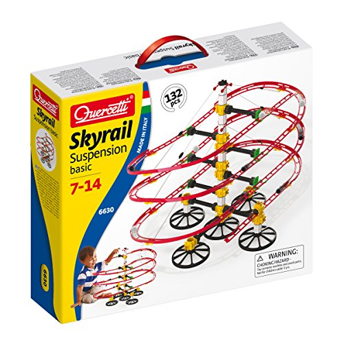 Quercetti Skyrail - Suspension Basic (132 Piezas)