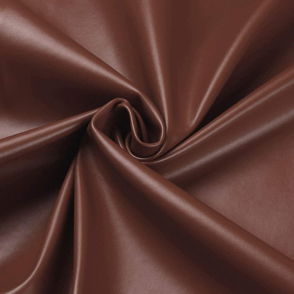 leather material fabric Upholstery Faux Leather Fabric Waterproof Leatherette Soft Feel Vinyl Upholstery Fabric For Upholstery Solid Color Fabric PU DIY Craft Decoration Sold By Meter Per 1m X 1m38