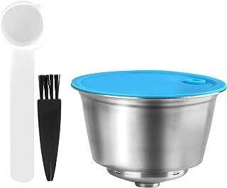 Haudang Capsule réutilisable pour Dolce Gusto - Filtre à café en acier inoxydable pour Nescafe/Dolce Gusto (avec manche L ...