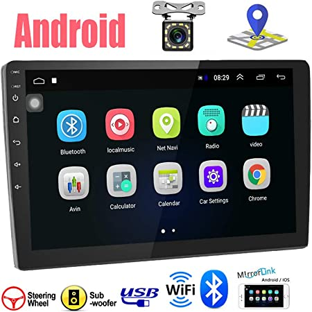 Car Radio Double Din Android Navigation Stereo 9 Inch Elektronik