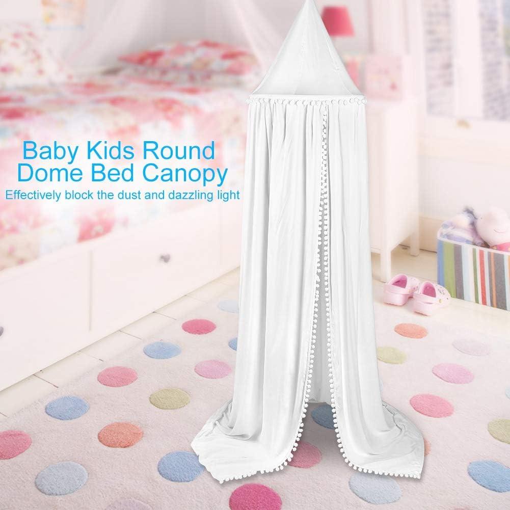 BigBig Style Betthimmel f/ür Babys Kinder Moskitonetz rund kuppelf/örmig Vorhang f/ür Haushalt Dekoration Schlafzimmer