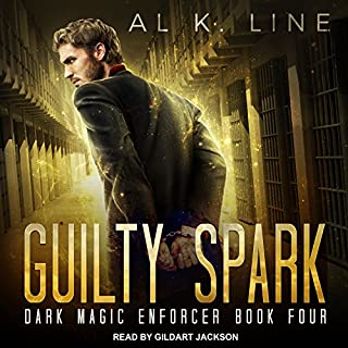 Guilty Spark     Dark Magic Enforcer Series, Book 4              By:                                                                                                                                 Al K. Line                               Narrated by:                                                                                                                                 Gildart Jackson                      Length: 6 hrs and 17 mins     3 ratings     Overall 4.0