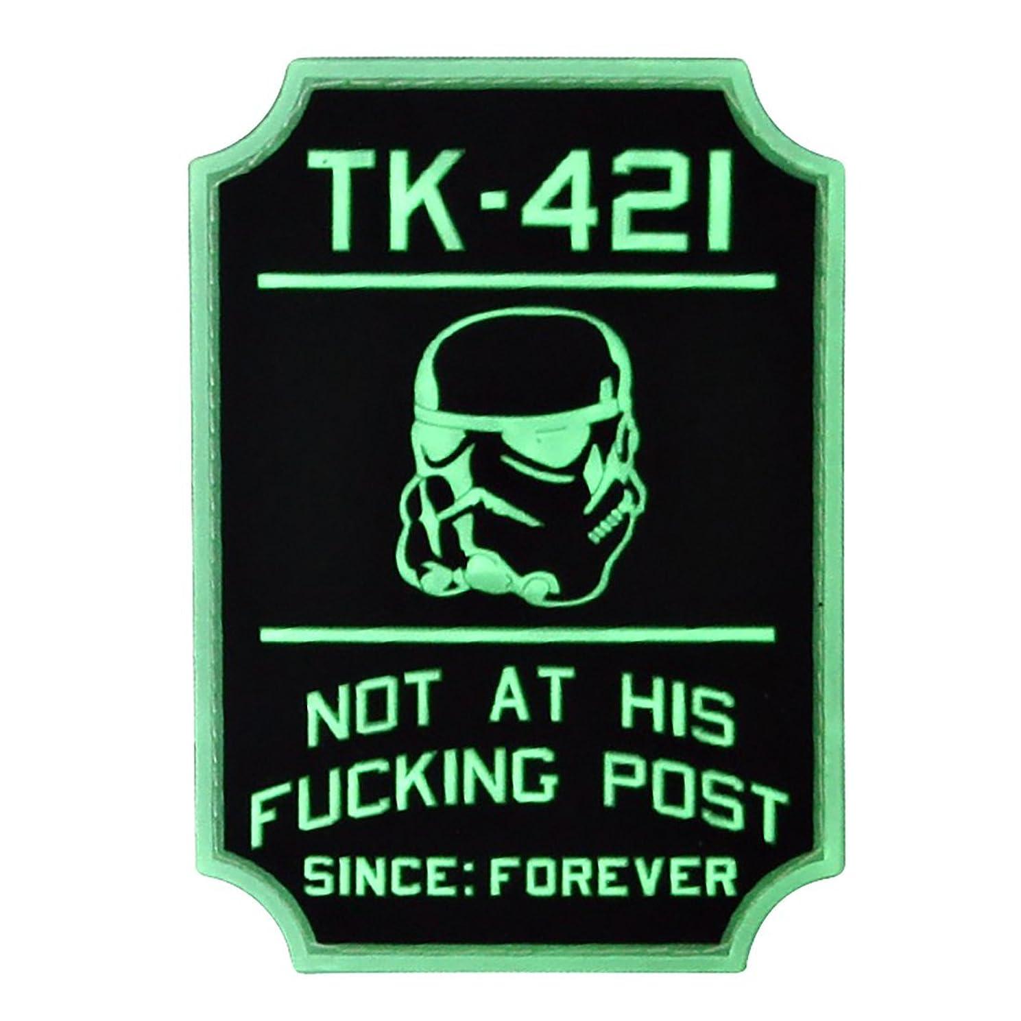 TK-421 Star Wars Morale Patch GITD